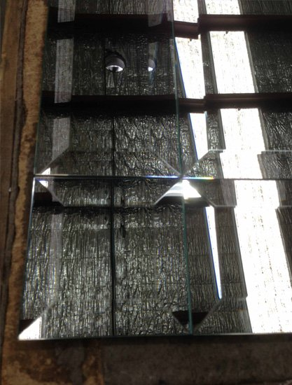 Single Bevelled Glass